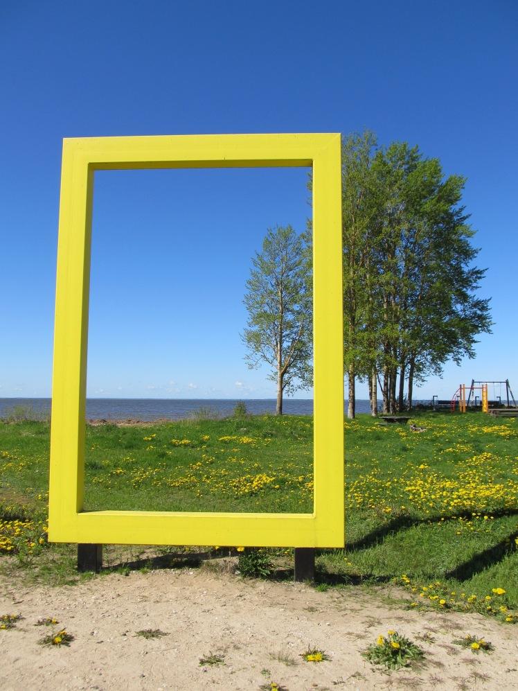 Auch hier steht ein gelber Rahmen